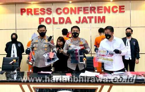 Amankan Tiga Tersangka, Kepolisian Daerah Jawa Timur Buka Hotline Pengaduan Pinjol Ilegal