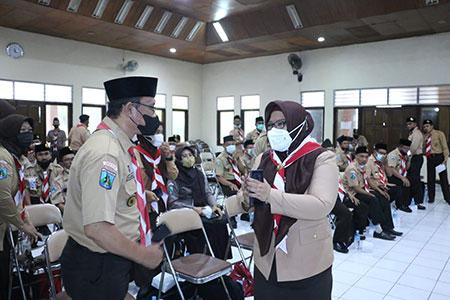 Pramuka Gresik Menjadi Barometer Gerakan Pramuka di Jawa Timur
