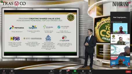 PT PJB Raih Penghargaan Top CSV Award 2021