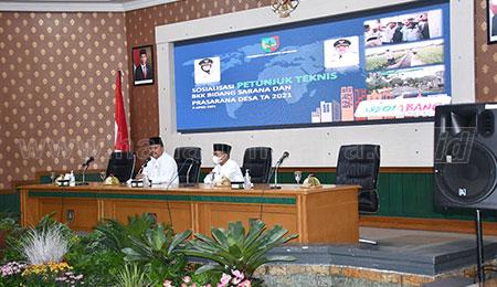 DPMD Jombang Gelar Sosialisasi Juknis BKK Bidang Sarana dan Prasarana Desa