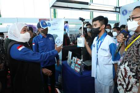 Sosong Era Society 5.0, Dindik Jatim Gelar Expo and Expose ICT SMK Jatim