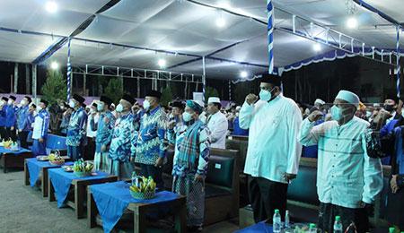 Peringati HSN 2021, Ketua Fraksi Demokrat dan dr Agung Dampingi Ketua DPD PD Jatim di Banyuwangi