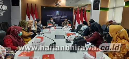 Belajar Keprotokoleran, Komisi I DPRD Situbondo Kunjungi Biro Administrasi Pimpinan Sekretariat Daerah Prov Jatim
