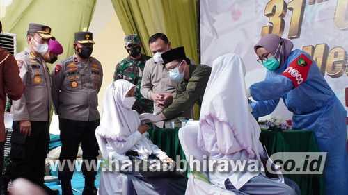 Ketua KPK Pantau Pelaksanaan Vaksinasi di Sidoarjo