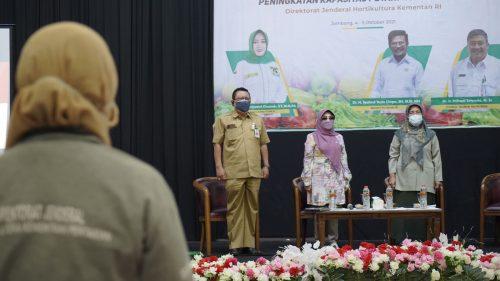 PKL Jombang Diharap Terapkan Hasil Bimtek Olahan Pisang E-Commerce