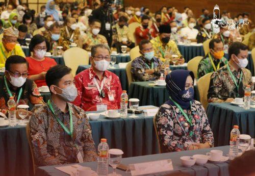 Wali Kota Mojokerto Hadiri Rakernis Indo Smart City di Jogyakarta