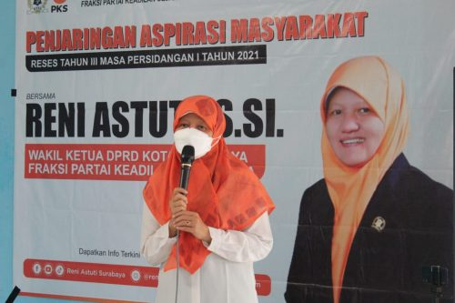 Jaring Aspirasi Masyarakat di Masa Reses, Ibu-Ibu: Bunda Reni Astuti Wakil Rakyat Kesayangan