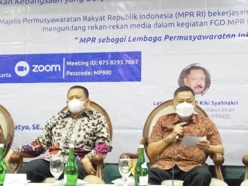 Letjen Purn Kiki Syahnarki: Wujudkan MPR Inklusif, Parpol Harus Inklusif