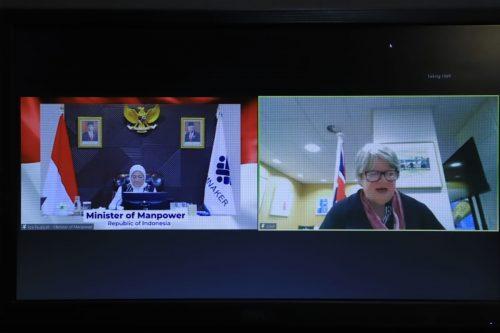 Indonesia dan Inggris Kerjasama Bidang Ketenagakerjaan Berbasis Digital