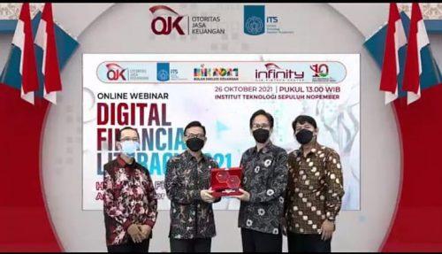 OJK dan ITS Luncurkan Program Digital Financial Literacy 2021