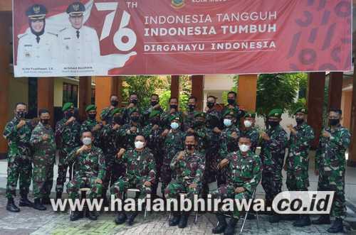 Dandim 0815/Mojokerto Tutup Katpuanter Abituren Dikjurba Otsus TNI AD