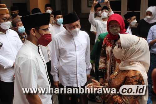 Mendikbudristek Nadiem Makarim Kunjungi Pondok Pesantren Tebuireng Jombang