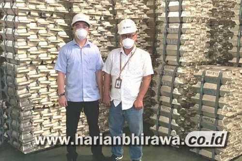 Harga Timah di Pasar Fisik Jakarta Futures Exchange Capai  USD 39,800 Per Metrik Ton