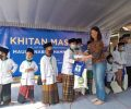 100 Anak Berbek Ikut Sunat Massal, Warga: Terima Kasih SIER!