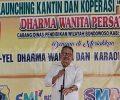 Agar Lebih Produktif Produk SMK, Dilakukan Launching Kantin dan Koperasi