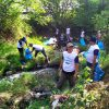 Karywan PT CS2 Pola Sehat dan PT Ultra Prima Abadi Pasuruan Bersihkan Sampah