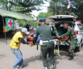 Personel Korem 082/CPYJ Gelar Latihan Penanggulangan Bencana