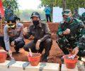 Pra TMMD, Bupati Lamongan Tinjau Pembangunan Jalan-Pipanisasi