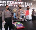 Satresnarkoba Polres Trenggalek Ringkus Bandar Sabu Antar Kota.