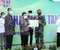Dandim 0813 Bojonegoro Terima Sertifikat Hak Tanah dari BPN