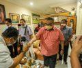 Bertemu Saleh Mukadar, Eri Cahyadi Tukar Pikiran soal Program Kerakyatan di Surabaya
